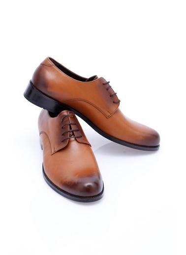 Wessi %100 Deri Bağcıklı Klasik Ayakkabı Kahve